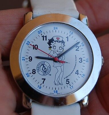 Betty Boop nurse watch excellent!