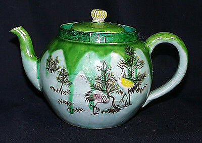 Rare And Exceptional c1868 Decorated Signed Japanese Banko Teapot