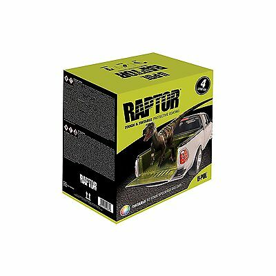 U-Pol Products 0821 RAPTOR Tintable Truck Bed Liner Kit - 4 Liter, Free Shipping