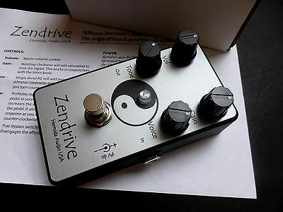 Hermida Audio/Lovepedal Zendrive Overdrive Effects Pedal