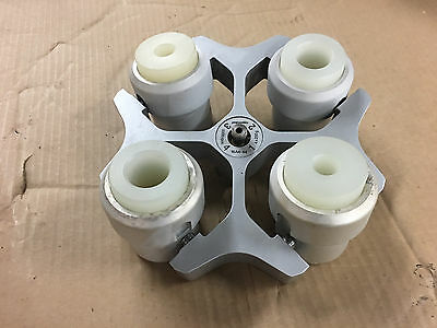 Eppendorf Centrifuge Rotor 16A4-44 5000rpm 4x 250g with 4 Buckets