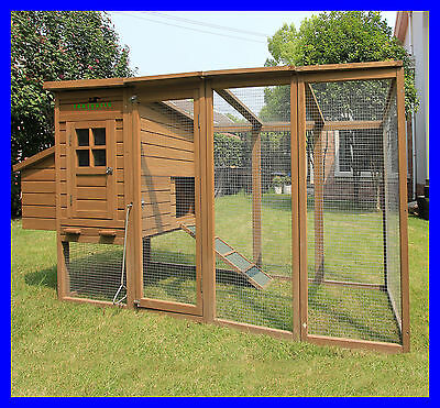 8ft/2.5m Blenheim Chicken Coop Roof Large Hen House Poultry Rabbit Hutch Duck