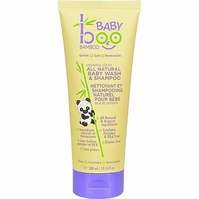 UNFI-1146851-Boo Bamboo Baby Hair and Body Wash - 10.14 oz