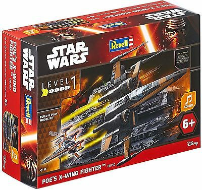 Revell Star Wars Build & Play Poes X-Wing Fighter Model Kit Scale 1:78 NEW