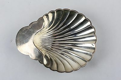 Vintage International Silver Company Silver-plate Footed Shell Bowl