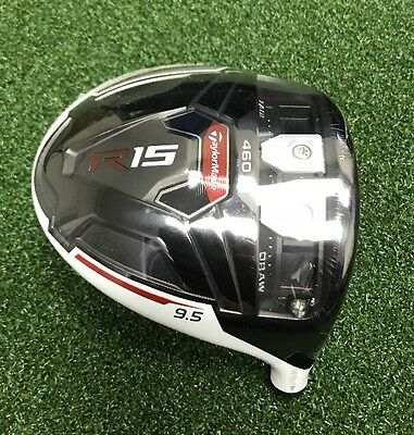New! Taylormade R15 9.5* 460 Driver (Head Only) $129 Buy It Now!!!