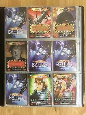 Dr Who Battles in Time Album and Cards