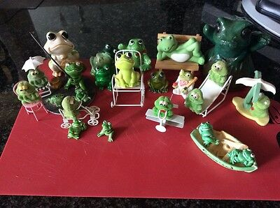 Collection of frogs