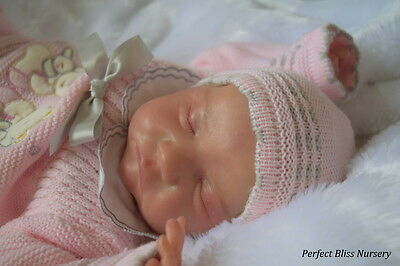 *pbn* Booboo Faulty Reborn Baby Doll Girl Sculpt Levi By Bonnie Brown