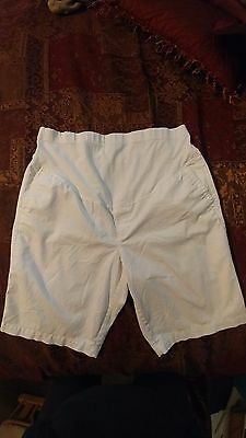 Old Navy maternity shorts size 12 white large
