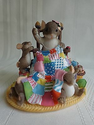 Fritz & Floyd - Happiness is Homemade - Charming Tails - Mice Figurine