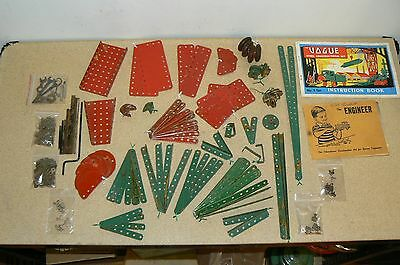 Vintage VOGUE parts lot and booklets not meccano  .