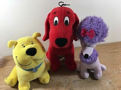 Kohl's Cares Clifford the Big Red Dog, T-Bone, & Cleo Plush