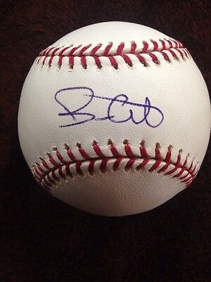 BRIAN GILES Signed Autographed Major League Baseball Single AUTO PIRATES PADRES