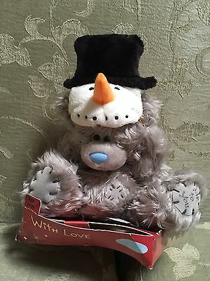 "ME TO YOU TATTY TEDDY ""SNOWMAN"" BEAR 6 Inches"