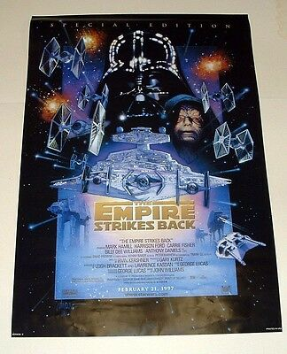 Star Wars, Special Edition Empire Strikes Back Movie Poster - 39 1/2 X 27 - 1997
