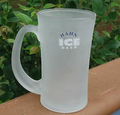 Hahn Ice Frosted Beer Glass Mug Stein with Handle *300ml