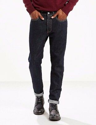 Levis 501CT  men jeans 288940030 red line selvedge denim indigo 100% Cotton