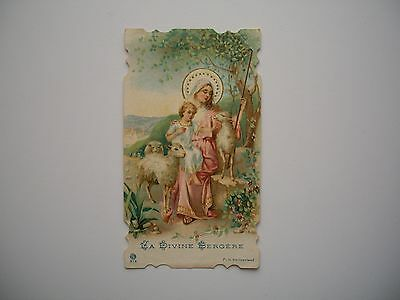 Antique Holy Card of Virgin Mary / Jesus no.212