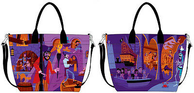 Disney D23 Expo 2017 Dooney & Bourke Pumpkin King Nightmare Jack Shopper Tote