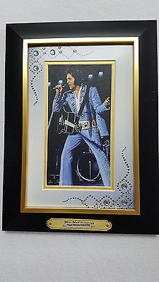 """Elvis Presley's Portraits of Style """"Shaking the Blues"""" by Bradford Exchange"""