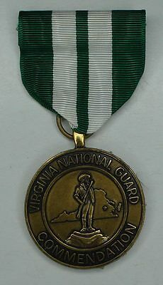 Virginia National Guard Commendation Medal For Outstanding Achievement