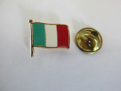 Italy National Flag Metal Lapel Pin Pinback