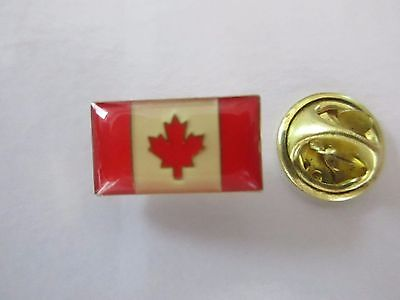 Canada National Flag Metal Lapel Pin Pinback Epinglette