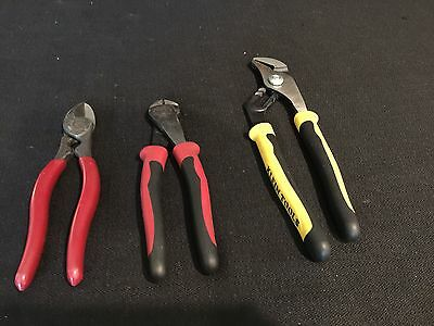 (3 Pic)KLEIN TOOLS LONG PUMP PLIERS J502-10, J248-8 , 1104 JOURNEYMAN