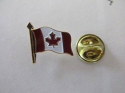 Nice Canada National Flag Metal Lapel Pin Pinback Epinglette