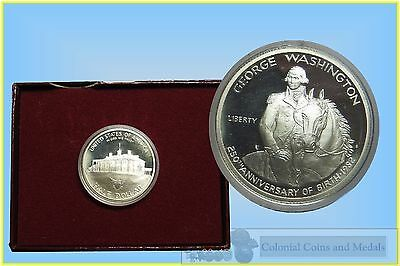 USA. Silver Half Dollar 1982 George Washington Proof in Capsule