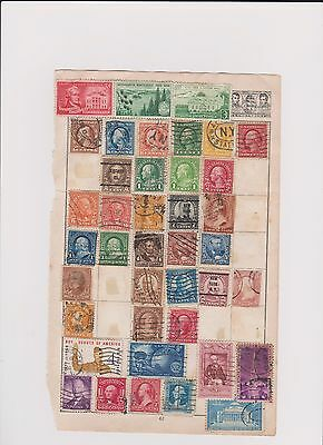 us usa old stamp page  pickings here