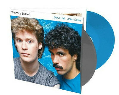 Daryl Hall And John Oates - The Very Best Of -Sealed GREY/BLUE COLOURED Vinyl LP
