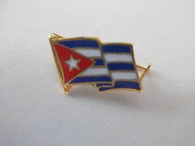 Cuba National Flag Metal Lapel Pin Pinback Epinglette