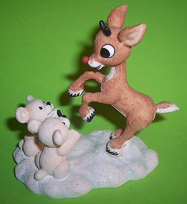 Vintage~Enesco~Rudolph And The Island Of Misfit Toys~Sharing Fun And Friendship