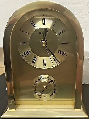 Acctim Highgrove 36068 Gold Mantel Clock | Free Battery Included |