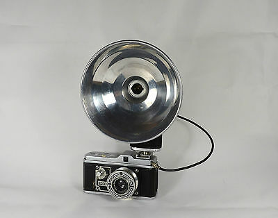 Bilora Radix camera with Agfa flash, good cond., camera works, flash untested.