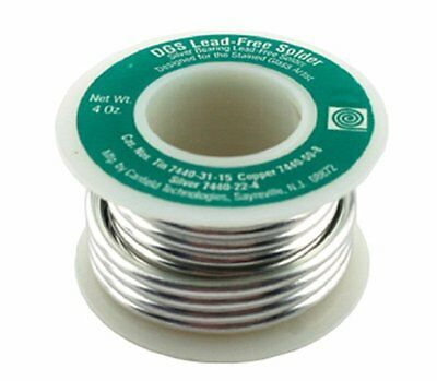 Canfield DGS Lead Free Solder 1/4 lb Spool - Stained Glass and Jewelry Making