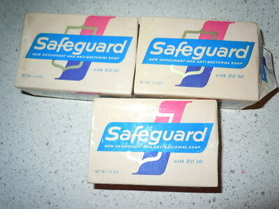 Vintage 3 Safe Guard Small Bar Soap With RD 50