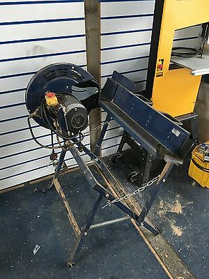 Einhell log cut off saw