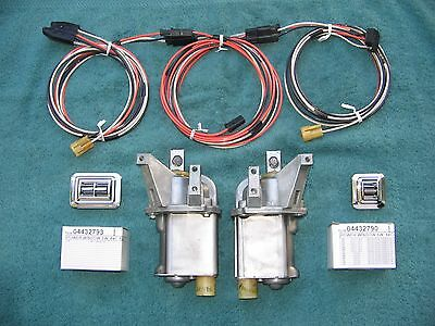 Power Electric Vent Window System 65 66 67 68 Cadillac Buick Chevy Olds Pontiac