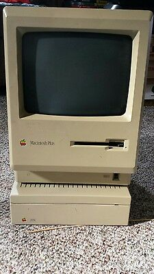Macintosh Plus M0001A and Hard Disk 20SC