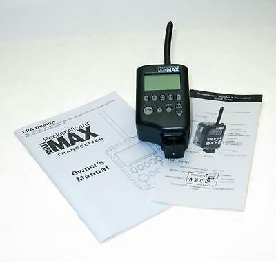 Pocketwizard Multimax Transceiver, Tested, Working Pocket Wizard, Ship Worldwide