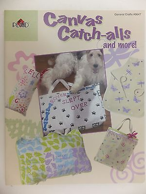 Canvas Catch All Totes & Aprons Stencil & Stamp Book by Plaid