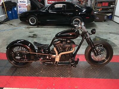 2015 Custom Built Motorcycles Bobber  2015 Harley Custom Bobber / Chopper / 250 tire / Softail