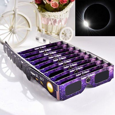 Solar Eclipse Glasses 2017 Galaxy Edition CE and ISO Standard Viewing New 1 pcs
