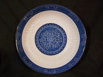 Vintage Japanese TOYO Porcelain Blue & White Serving Bowl Dish Platter Plate