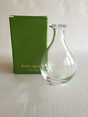 "Kate Spade New York / Lenox ""Sweet Pea"" 5"" Crystal Posy Vase #6342356"