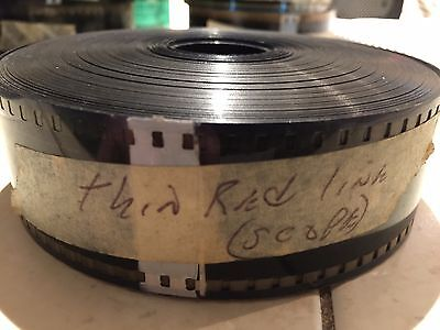 THE THIN RED LINE   35mm Trailer FREE SHIPPING! Film Cell, Caviezel, Nolte, Penn