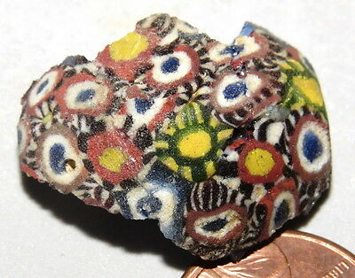 Ancient Egyptian Mosaic Glass Fragment ~ Rings, Collections